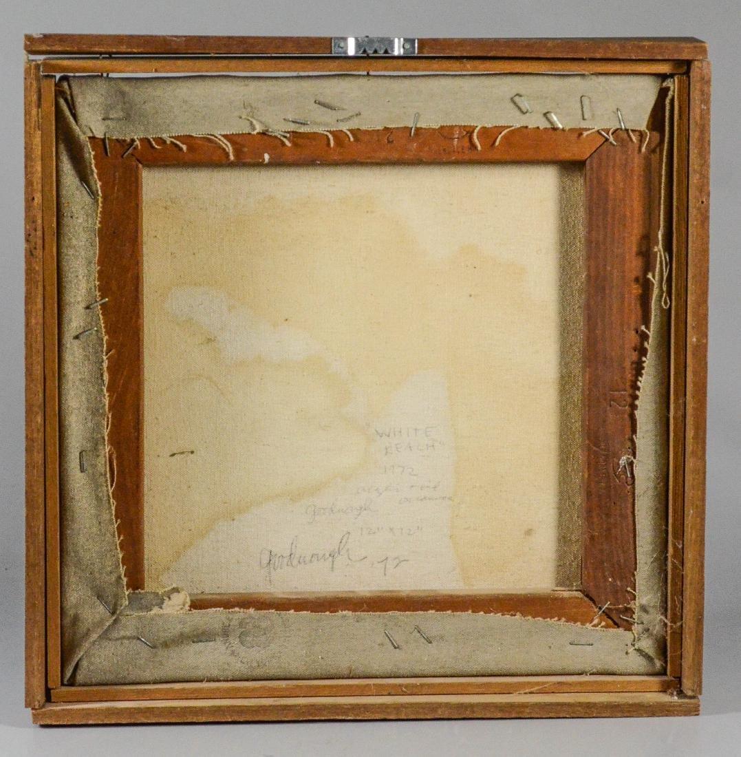 "Robert Arthur Goodnough, abstract ""White Reach"" - 5"