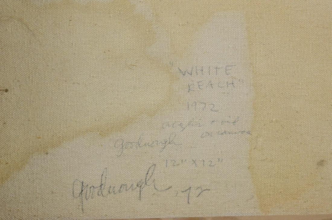"Robert Arthur Goodnough, abstract ""White Reach"" - 6"