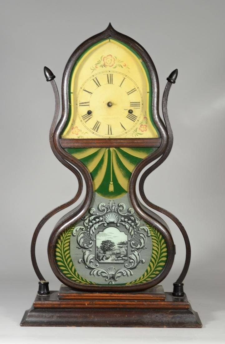 Acorn Shelf Clock, Forestville Manufacturing Company