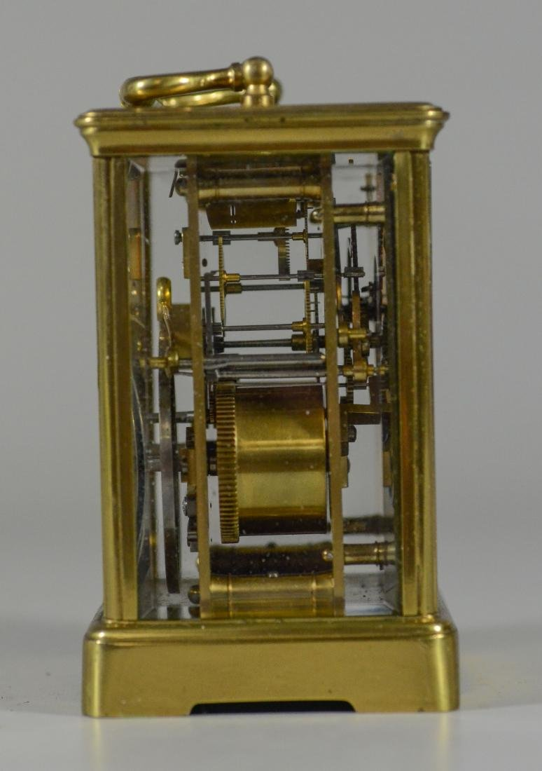 French carriage clock, time and hour/half hour strike - 2
