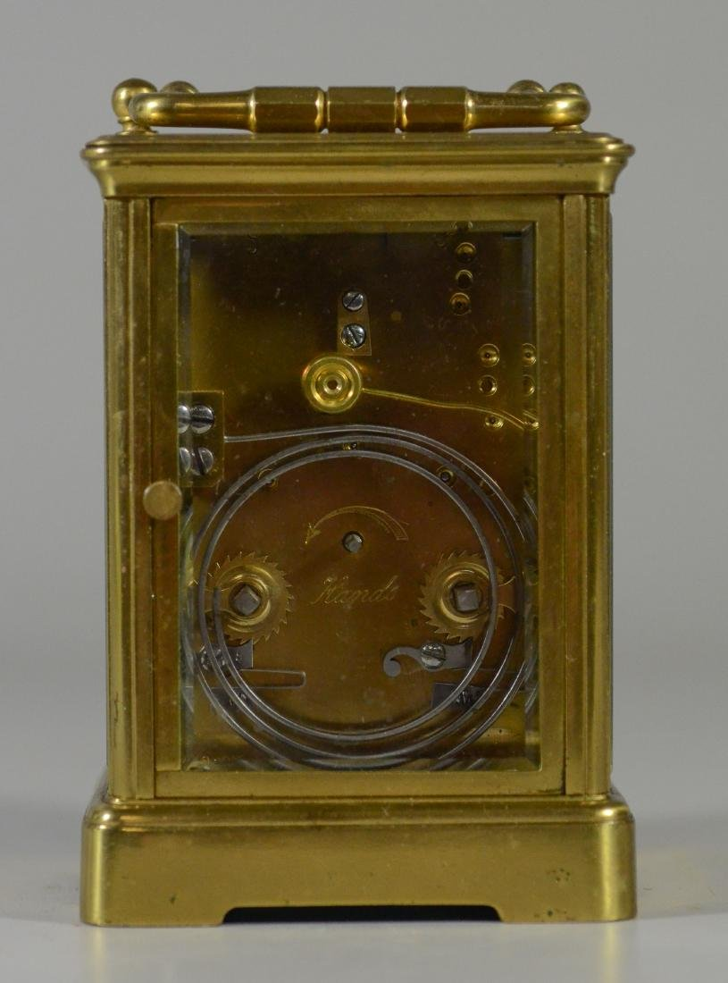 French carriage clock, time and hour/half hour strike - 3