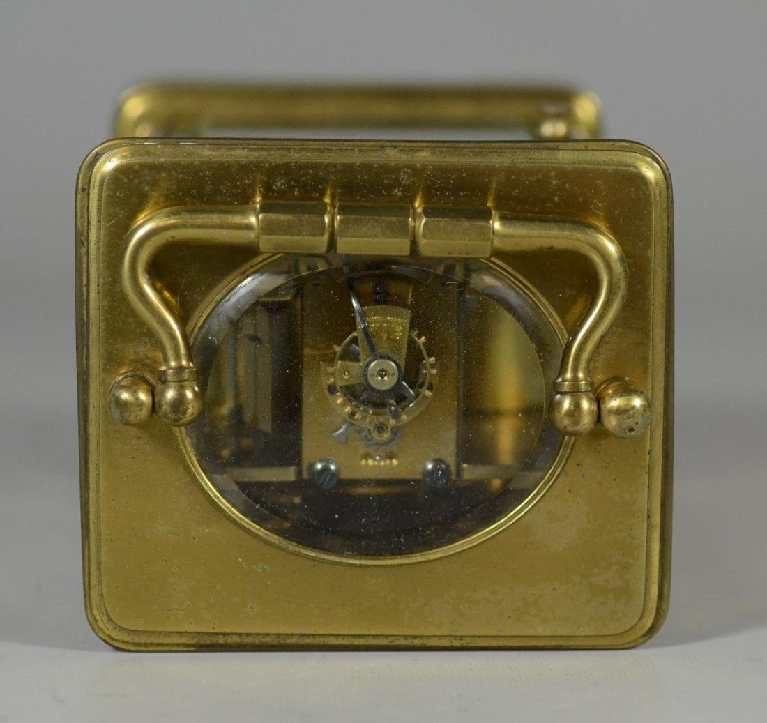 French carriage clock, time and hour/half hour strike - 5