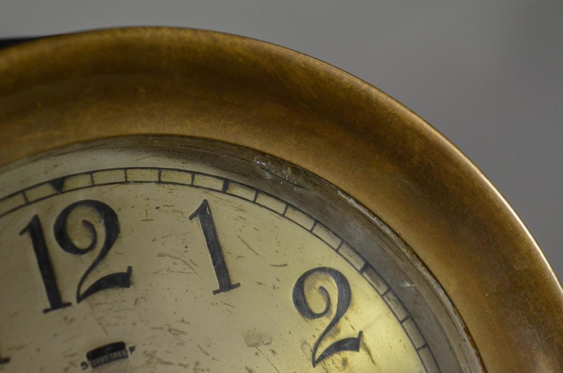 Tiffany & Co Chelsea brass ships clock - 11