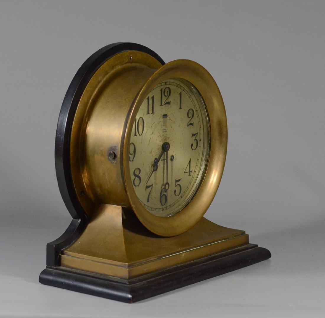 Tiffany & Co Chelsea brass ships clock - 3