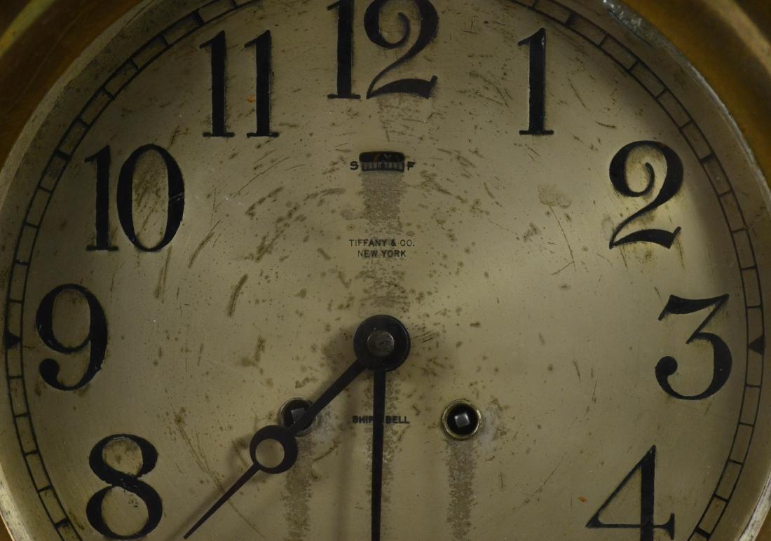 Tiffany & Co Chelsea brass ships clock - 4