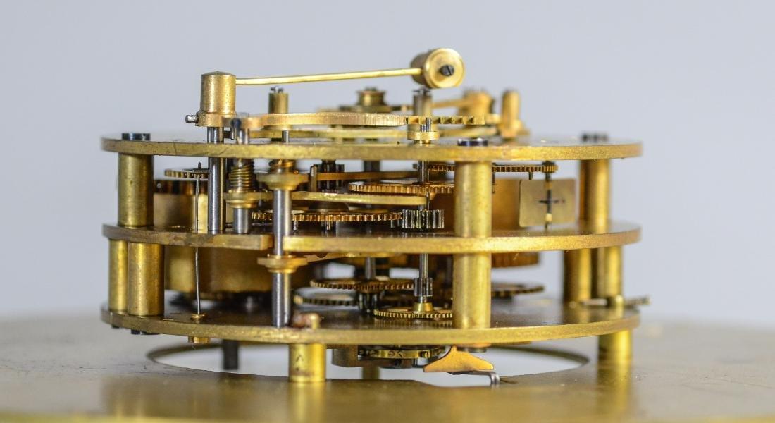 Tiffany & Co Chelsea brass ships clock - 7