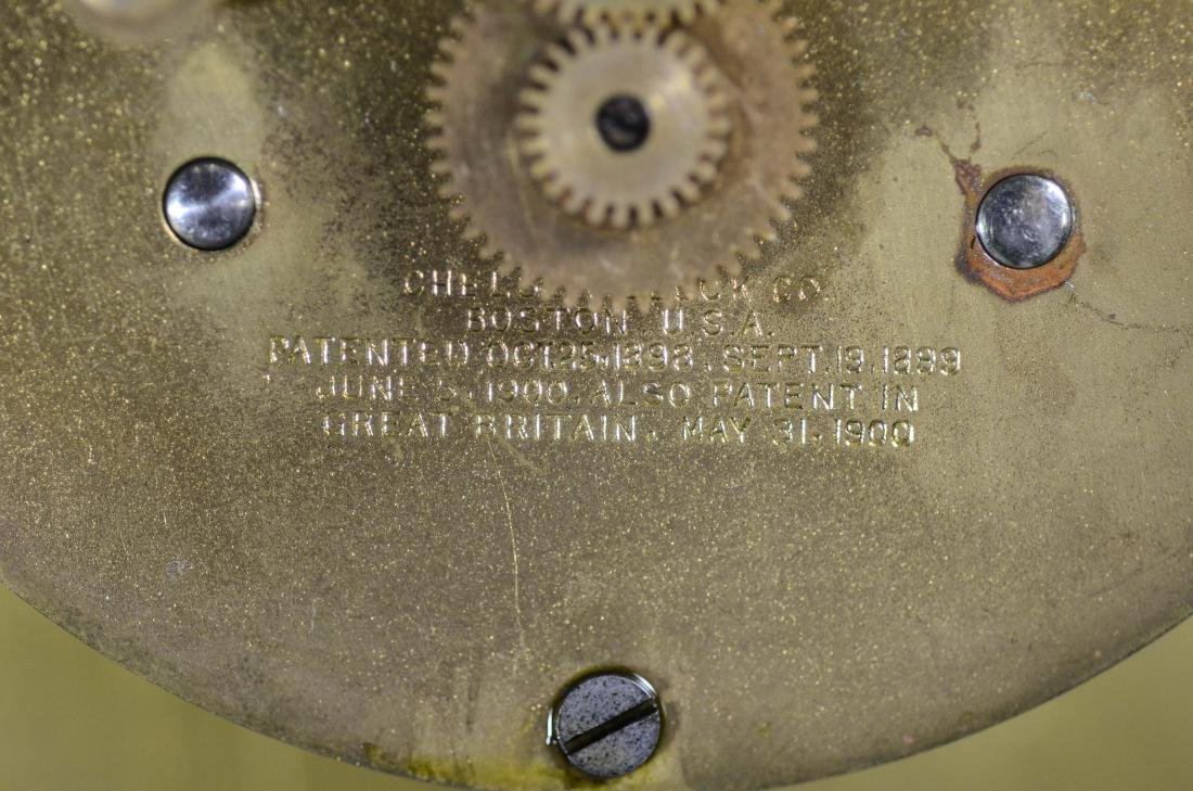 Tiffany & Co Chelsea brass ships clock - 9