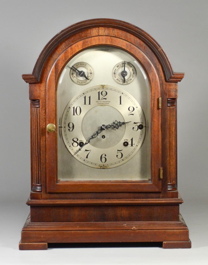 Seth Thomas Chime Clock No 2000, Sonora 8 bell chimes