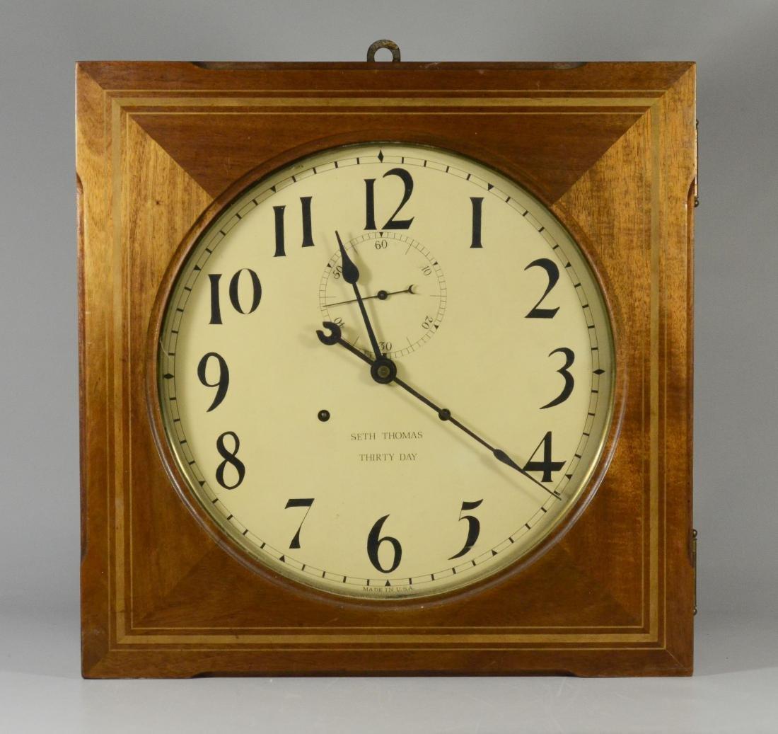 Seth Thomas Hudson 30 Day hanging clock