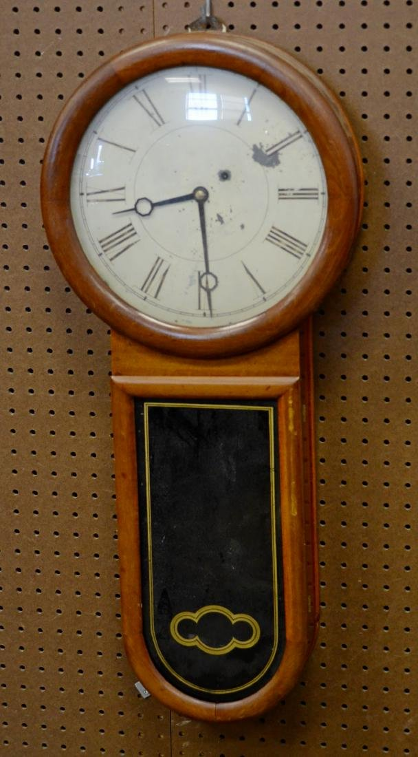 Unsigned weight driven wall clock