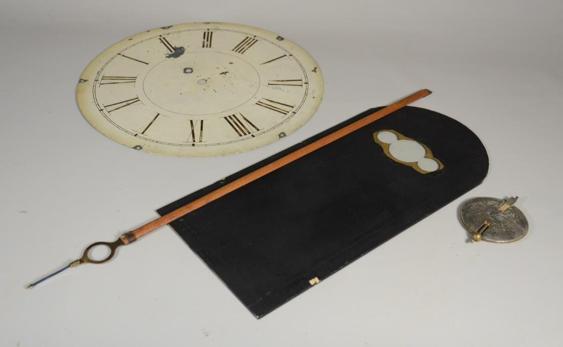 Unsigned weight driven wall clock - 5