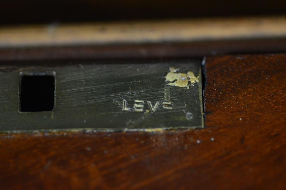 Mahogany sarcophagus form sewing box - 9