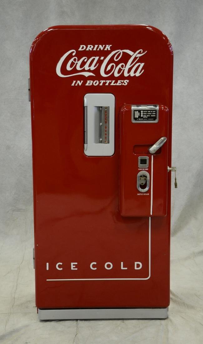 "Vintage ""Vendo 39"" 10 cent Coca Cola vending machine"