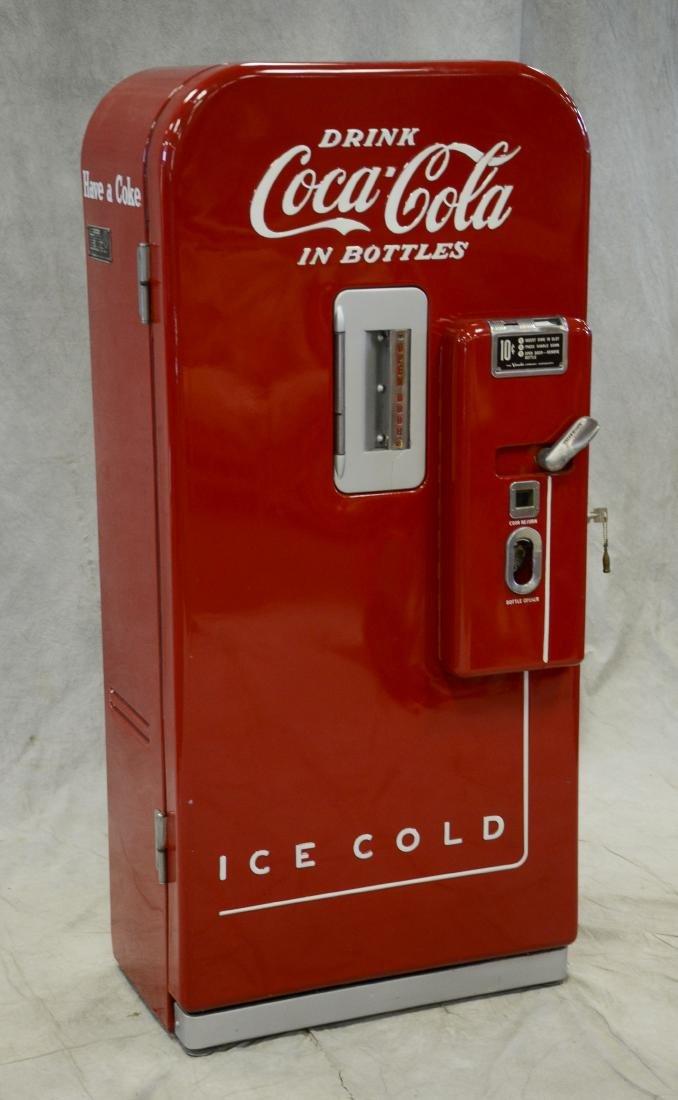 "Vintage ""Vendo 39"" 10 cent Coca Cola vending machine - 3"