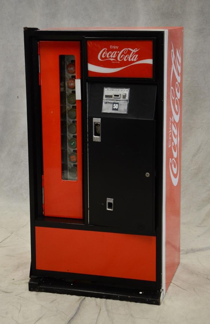 """Vintage """"Cavalier"""" 50 cent Coca Cola vending machine - 2"""