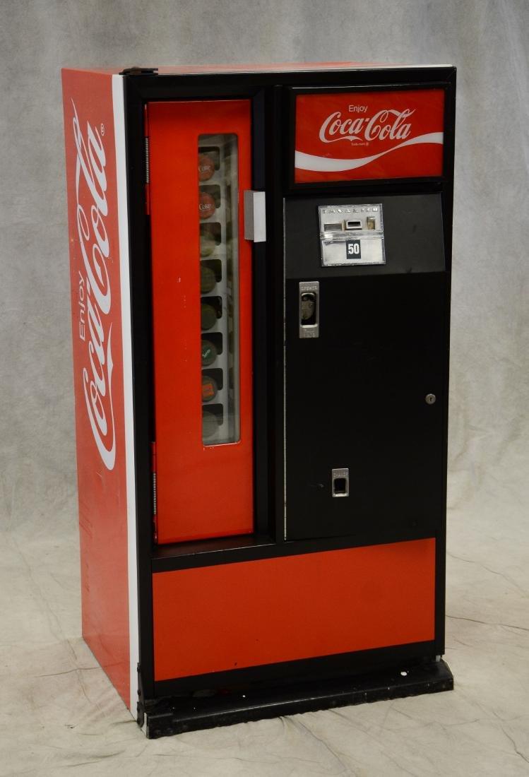 """Vintage """"Cavalier"""" 50 cent Coca Cola vending machine - 3"""