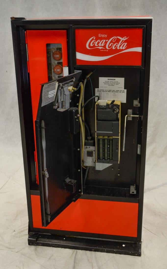 """Vintage """"Cavalier"""" 50 cent Coca Cola vending machine - 4"""