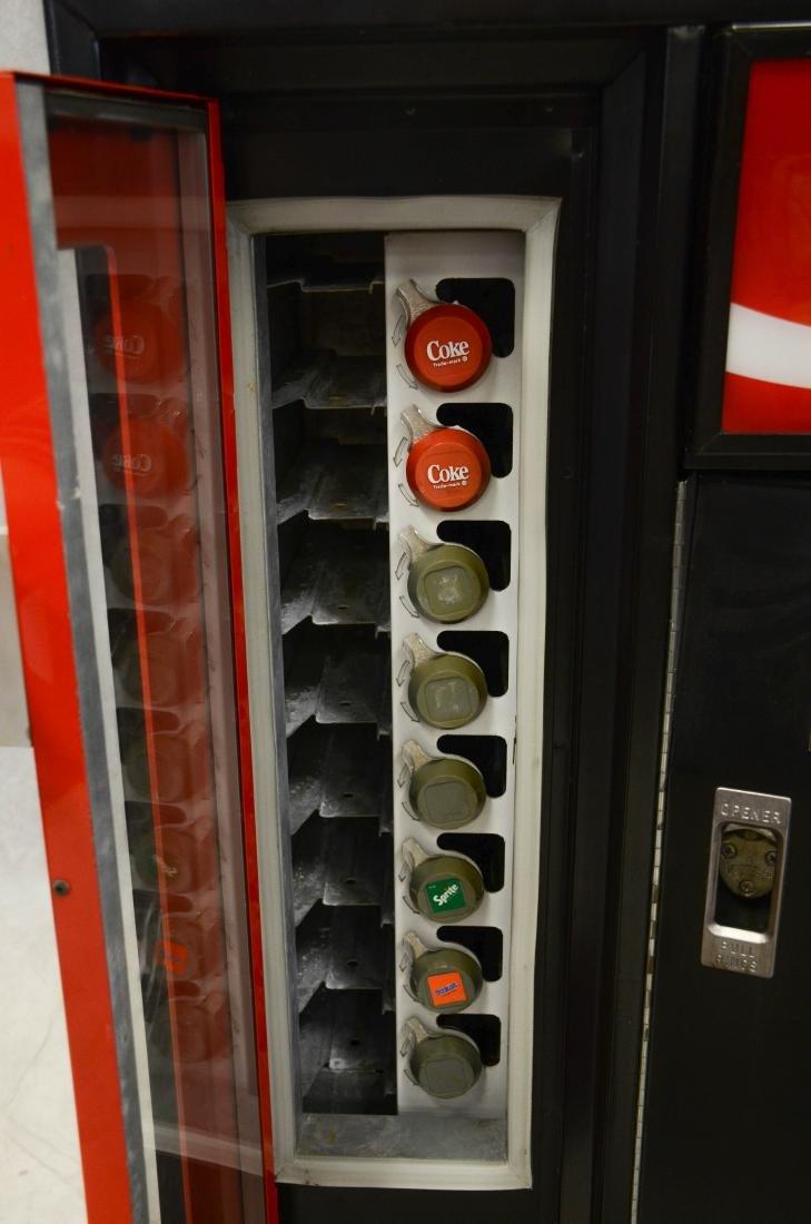 """Vintage """"Cavalier"""" 50 cent Coca Cola vending machine - 5"""