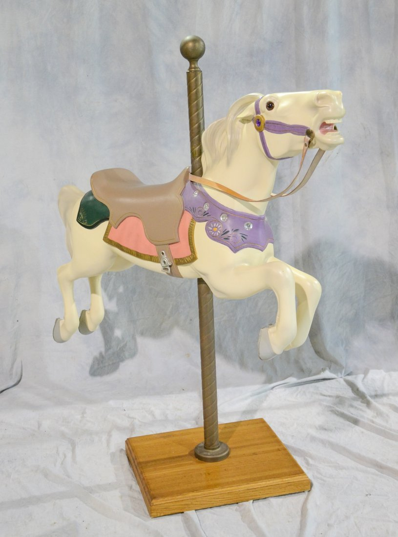 Contemporary Reproduction Carousel Horse - 2