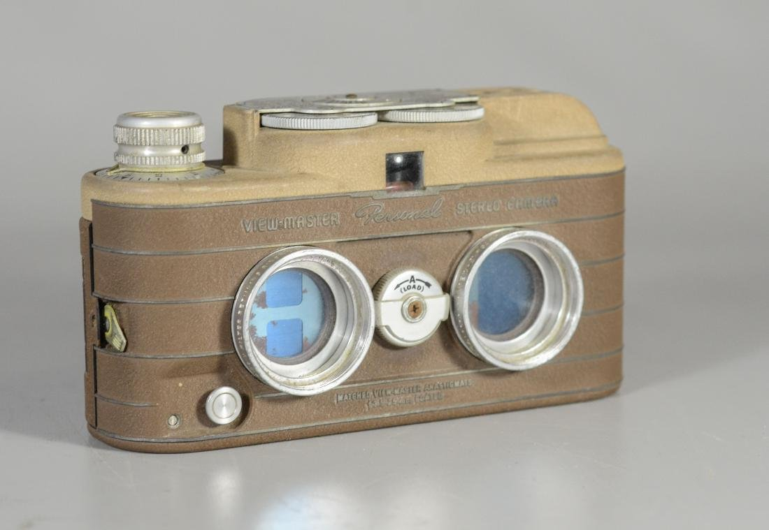 Viewmaster Personal Stereo Camera, made for Sawyers