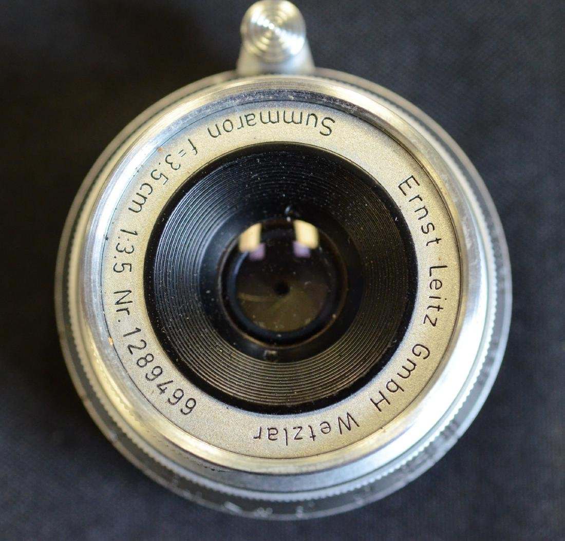 (2) Leica lenses, Ernst  Leitz Wetzler Hektor Summaron - 5
