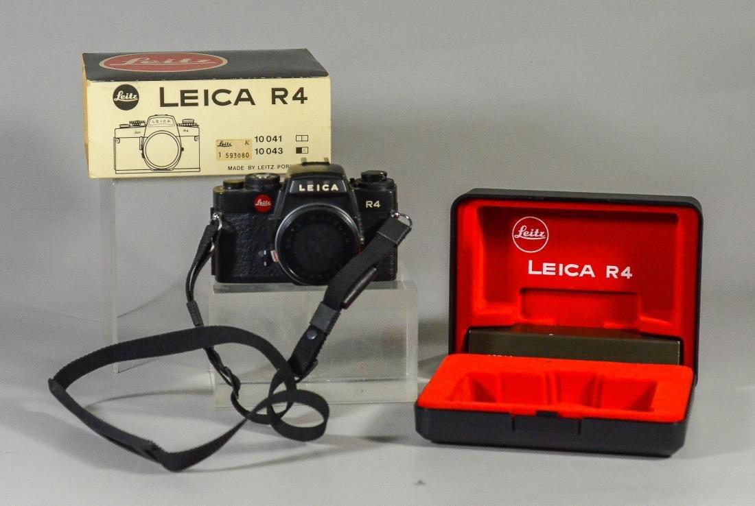 Leica R4 35mm SLR camera & Vario Elmar-R lens - 2