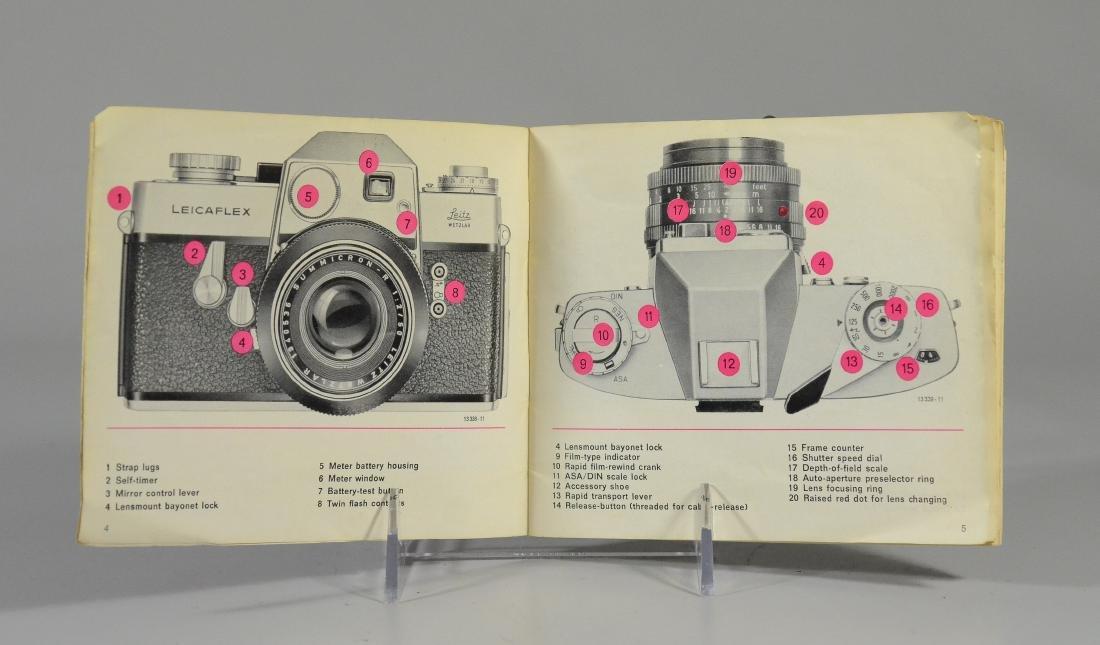 Leicaflex 35mm SLR camera & Leitz Wetzler Summicron len - 2