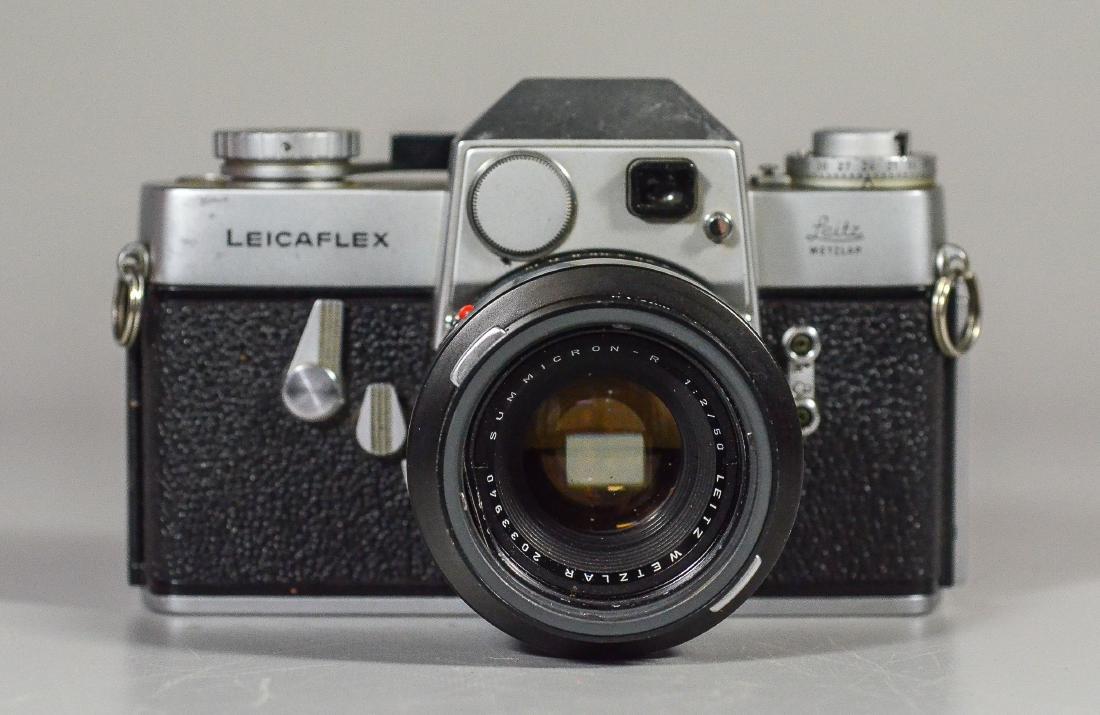 Leicaflex 35mm SLR camera & Leitz Wetzler Summicron len - 4