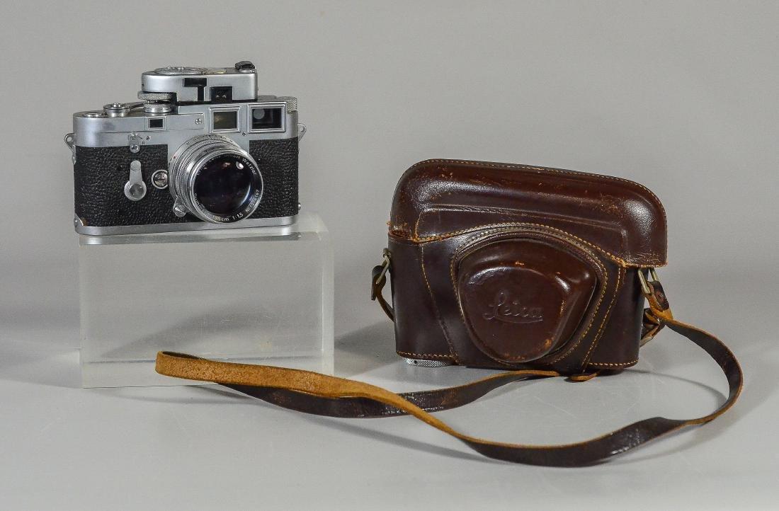 Leica M3 35mm rangefinder camera & lens