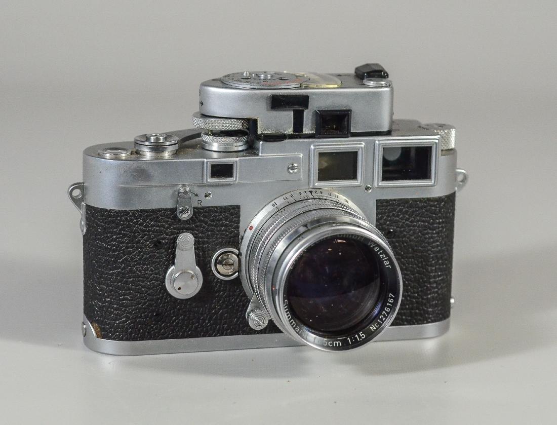 Leica M3 35mm rangefinder camera & lens - 2