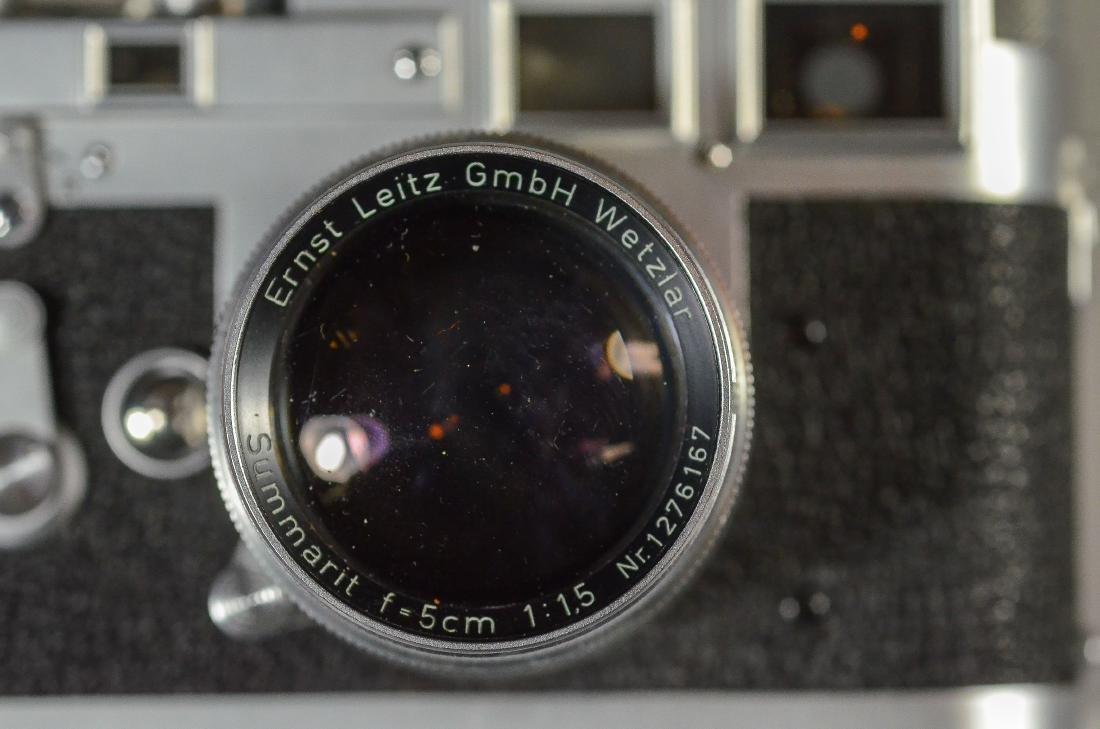 Leica M3 35mm rangefinder camera & lens - 7