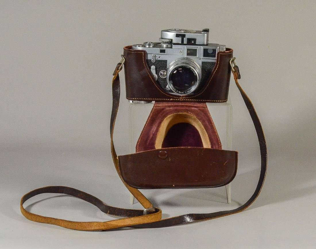 Leica M3 35mm rangefinder camera & lens - 8