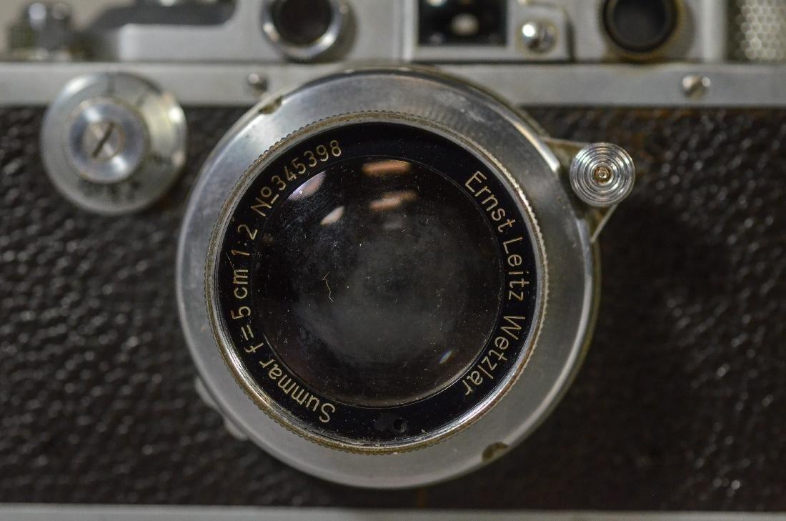 Leica IIIa 35mm rangefinder camera & lens - 3