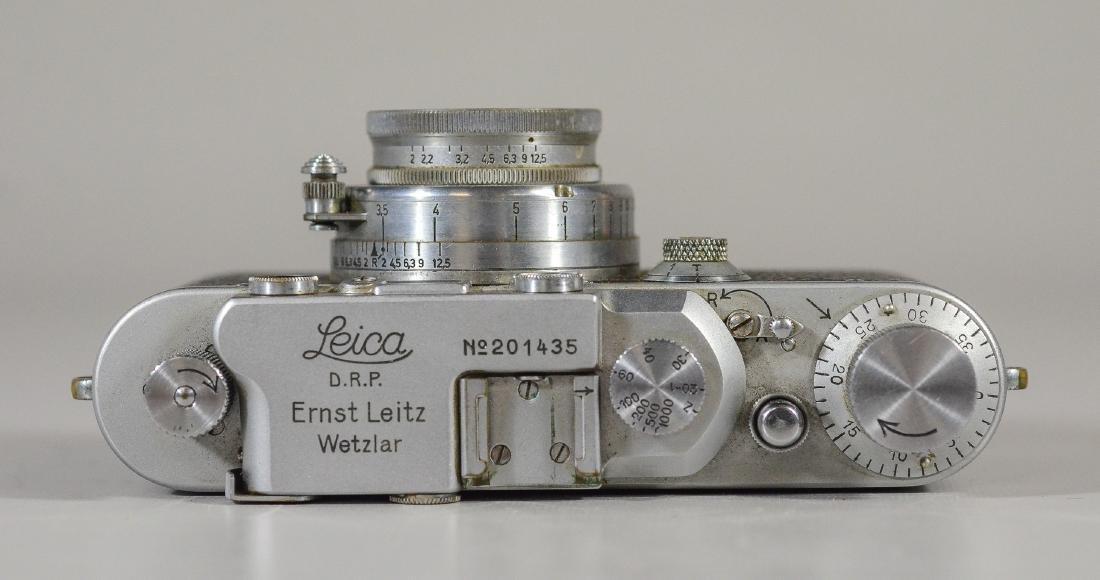 Leica IIIa 35mm rangefinder camera & lens - 5