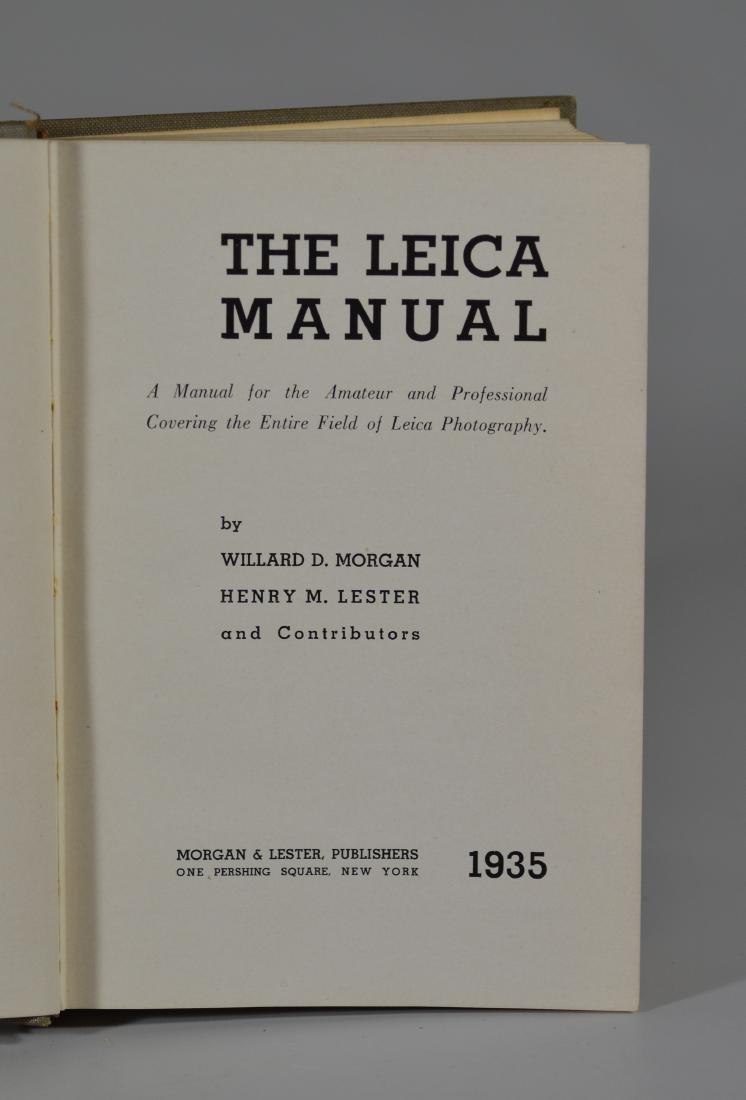 Leica IIIa 35mm rangefinder camera & lens - 7