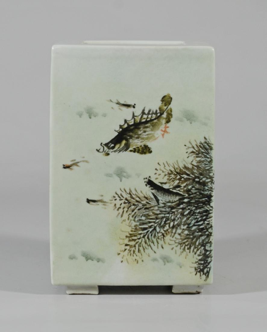 Chinese Porcelain Vase Dang Bishan; signature - 4