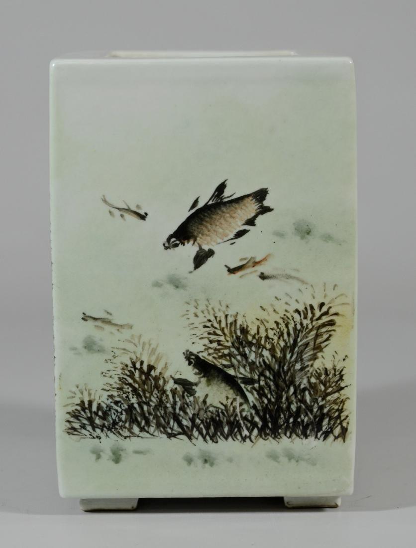 Chinese Porcelain Vase Dang Bishan; signature - 5
