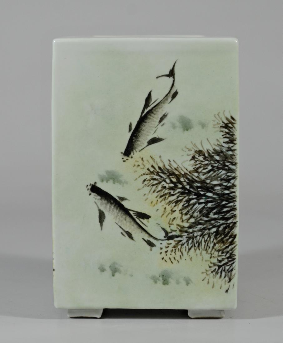Chinese Porcelain Vase Dang Bishan; signature - 6