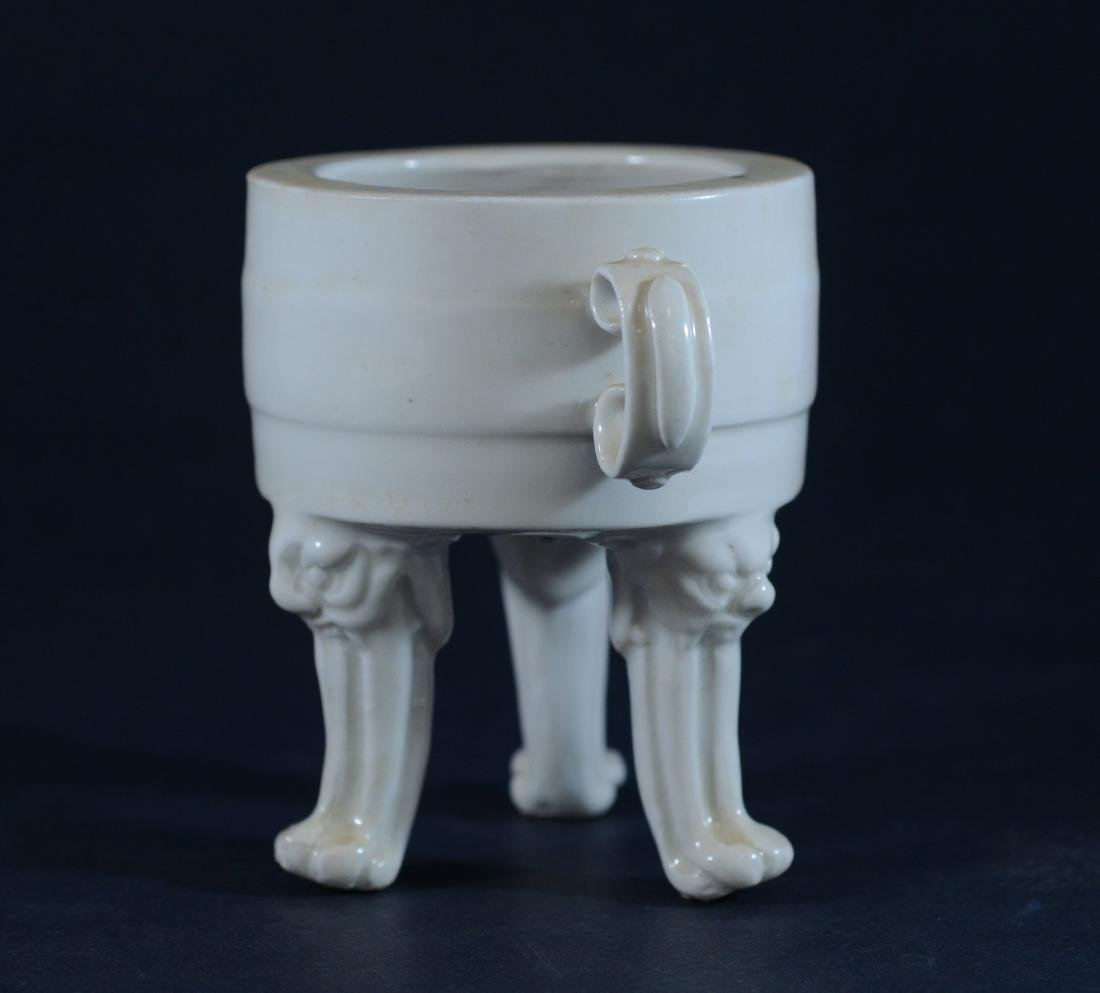 (2) Pieces Chinese Blanc De Chine - 3