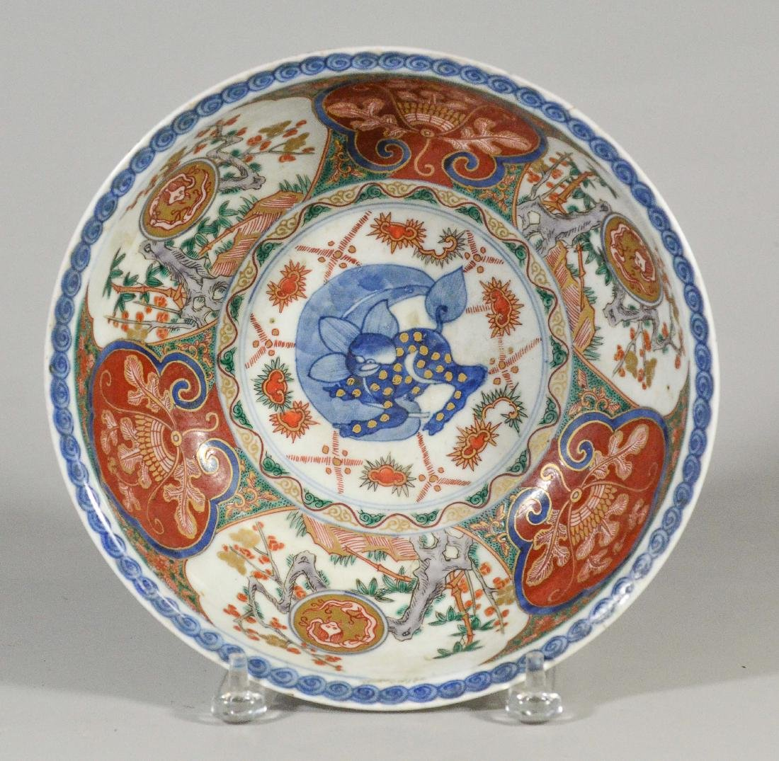 Chinese Wucai decorated porcelain bowl - 3