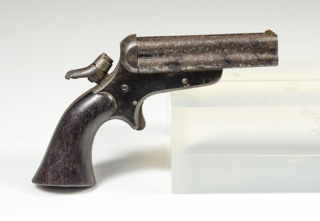 Four-Barrel Sharps and Hankins Pepperbox Pistol - 8