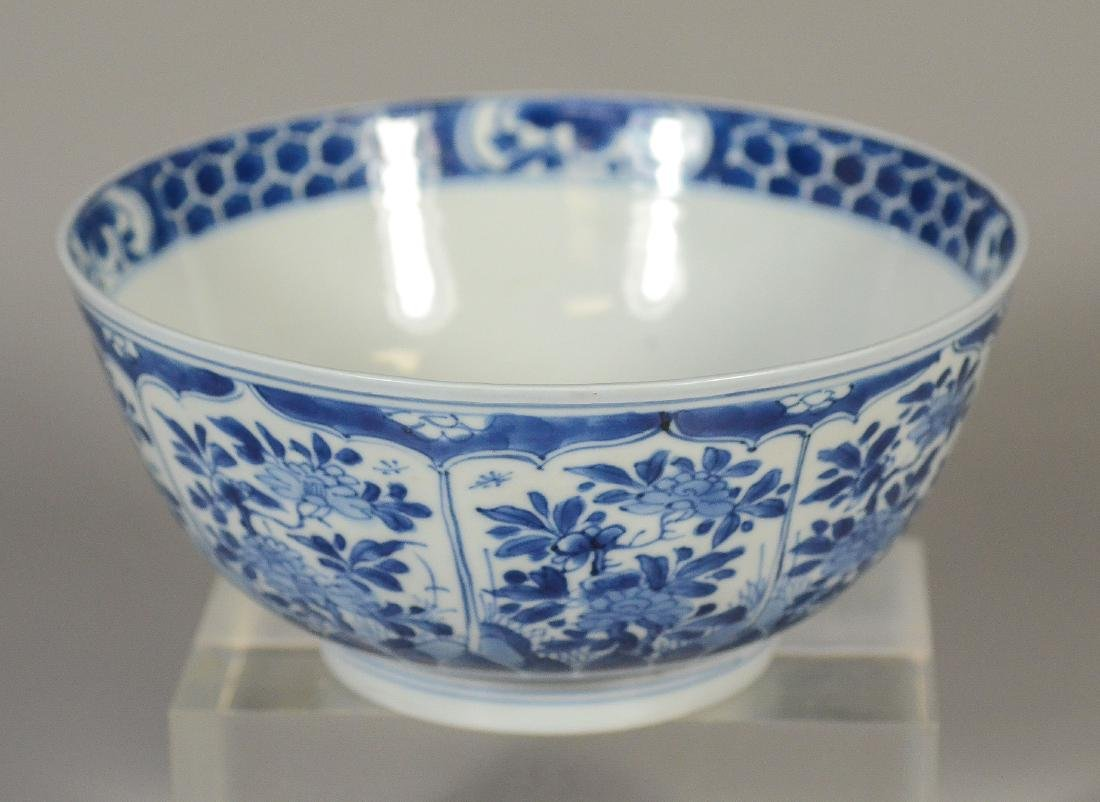 Blue and White Chinese Porcelain Bowl