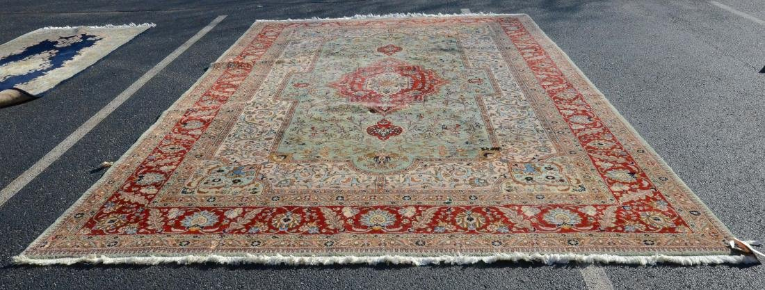 """9'9"""" X 15' Persian Tabriz Rug"""