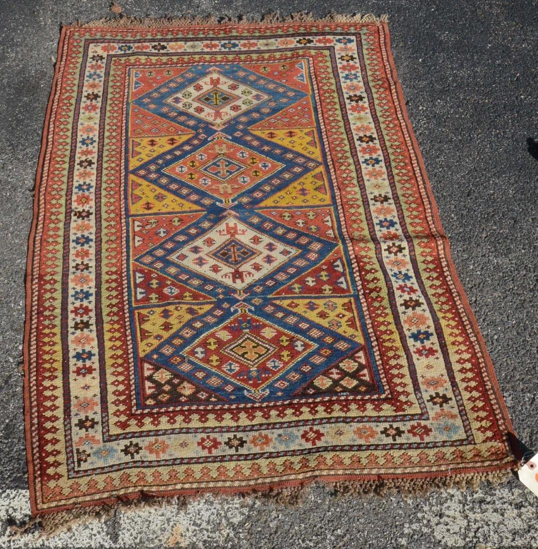 "3' X 4'4"" Shirvan Carpet"