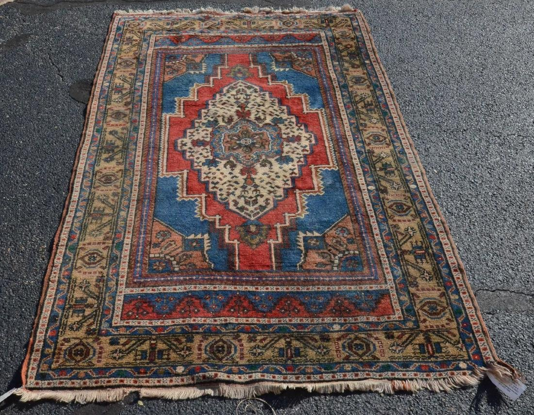 "4' X 6'4"" Turkish Rug"