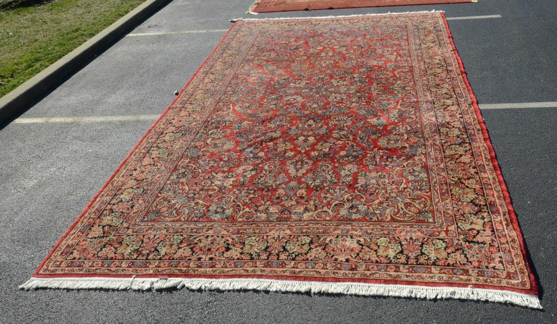 "10'1"" X 17'5"" Sarouk Carpet"