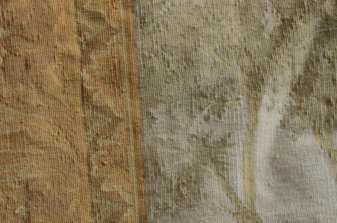 """5'8"""" X 7'9"""" Tapestry depicting a still life of birds - 3"""