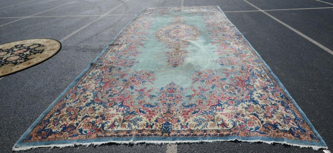 "9'10"" X 20'2"" Kirman Carpet"