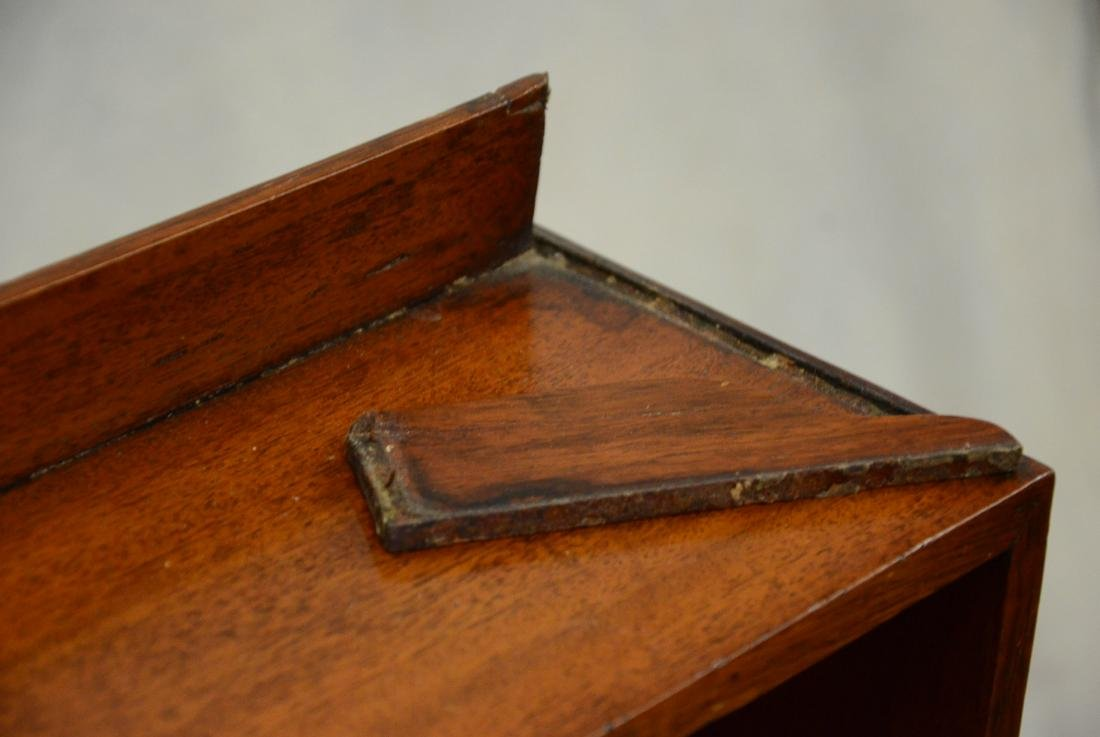 Mahogany Regency miniature stepback cupboard, c 1820 - 4