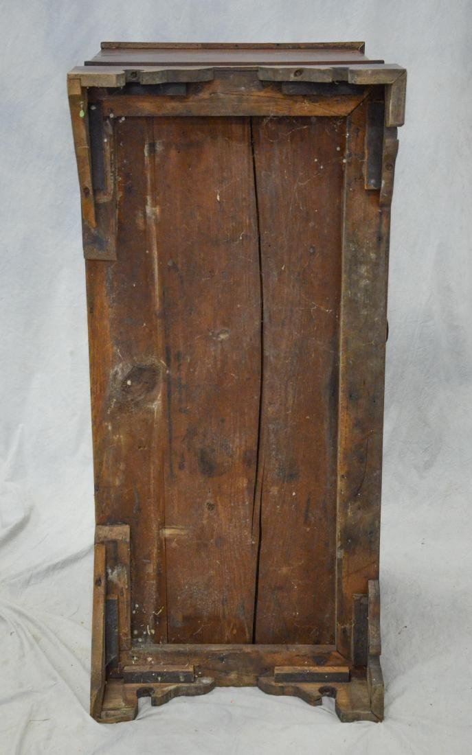 Walnut Chippendale 2 drawer blanket chest, c 1780 - 8